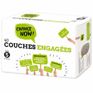 Couches engagées - Taille 5