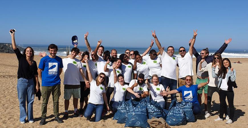 Journée de ramassage des déchets sur la plage de Tarnos avec l'équipe de Change Now!