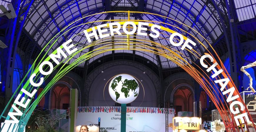 ChangeNOW Summit, l'exposition mondiale de solutions pour la planète